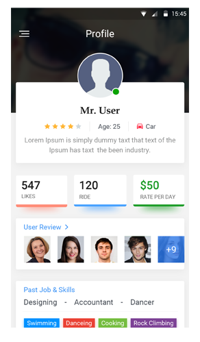 mobile-user-profile